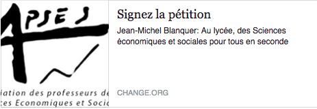 Signez la pétition ici !